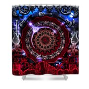 16 Bar Blues Shower Curtain