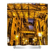 Butlers Wharf London Shower Curtain