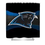 Carolina Panthers Shower Curtain