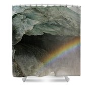 Climate Change In Greenland Shower Curtain