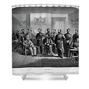 Lee's Surrender, 1865 Shower Curtain