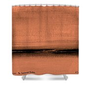 Our Oceans  The Continental Dividers Shower Curtain