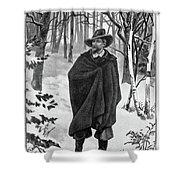 Roger Williams (1603-1683) Shower Curtain
