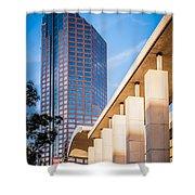 Skyline Of Uptown Charlotte North Carolina Shower Curtain