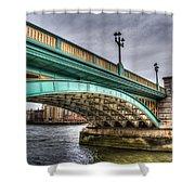 Southwark Bridge London Shower Curtain