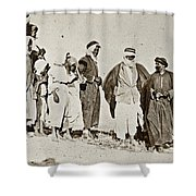 Wwi Refugees, 1919 Shower Curtain