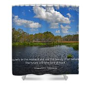 166- Paramahansa Yogananda Shower Curtain