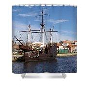 16th Century Ship Shower Curtain