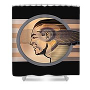 16x20 Mercury Black Shower Curtain