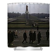 Berlin 1961 Shower Curtain