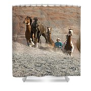 Cowboy Shower Curtain
