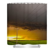 Excellent Severe T-boomers South Central Nebraska Shower Curtain