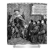 Henry Viii (1491-1547) Shower Curtain