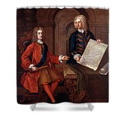 John Churchill (1650-1722) Shower Curtain