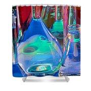 Laboratory Glassware Shower Curtain by Charlotte Raymond