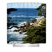17 Mile Drive Iv Shower Curtain