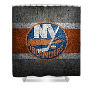 New York Islanders Shower Curtain
