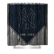 New York Yankees Shower Curtain