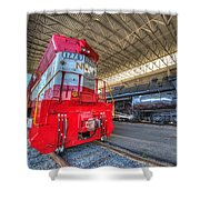 1776 And 1218 Locomotives Norfolk And Western Shower Curtain