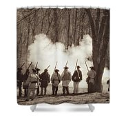1781 Guilford Court House Battle Shower Curtain