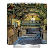 17th Century Chapel Shower Curtain