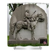 17th Pennsylvania Cavalry Shower Curtain