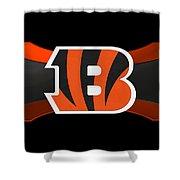 Cincinnati Bengals Shower Curtain