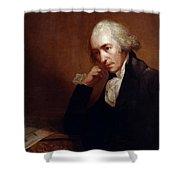 James Watt (1736-1819) Shower Curtain