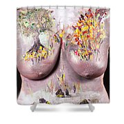 18. Judy Robkin, Artist, 2015 Shower Curtain