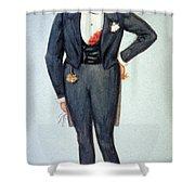 Oscar Wilde (1854-1900) Shower Curtain