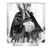 Women's Fashion, 1842 Shower Curtain