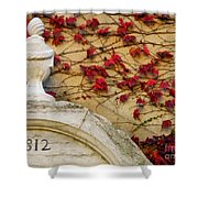1812 Fountain Shower Curtain