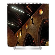 1865 - St. Jude's Church  - Interior 2 Shower Curtain by Kaye Menner