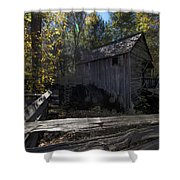 1868 Cable Mill At Cades Cove Tennessee Shower Curtain