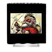 1881 Santa Shower Curtain