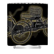 1896 Quadricycle Henry Fords First Car Shower Curtain