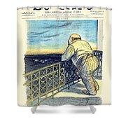 1897 - Le Rire Journal Humoristique Paraissant Le Samedi Magazine Cover - July 31 - Color Shower Curtain