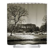 18th Century Winter Shower Curtain