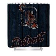 Detroit Tigers Shower Curtain