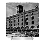 St Katherines Dock London Shower Curtain