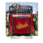 1905 Stanley Model E Shower Curtain