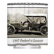 1907 Panhard Et Levassor Shower Curtain