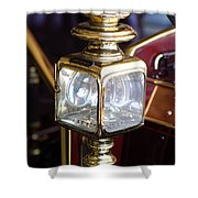 1907 Panhard Et Levassor Lamp Shower Curtain