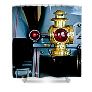 1908 Buick Model S Tourabout Taillight Shower Curtain