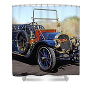 1910 Pope Hartford Model T Shower Curtain