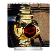 1910 Pope Hartford Model T Lamp Shower Curtain