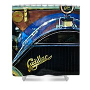1911 Cadillac Roadster Shower Curtain