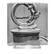 1912 Gobron-brillie 12 Cv Skiff Hood Ornament 2 Shower Curtain