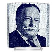 1912 Vote Taft For President Shower Curtain