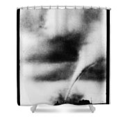 1913 Oklahoma City Tornado Shower Curtain